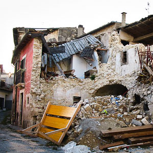 I luoghi del terremoto
