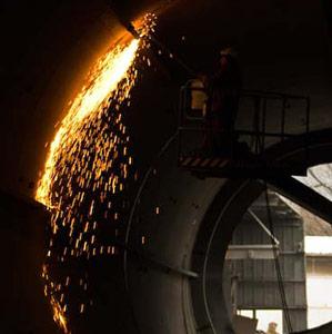 Demolizione silos Vinavil