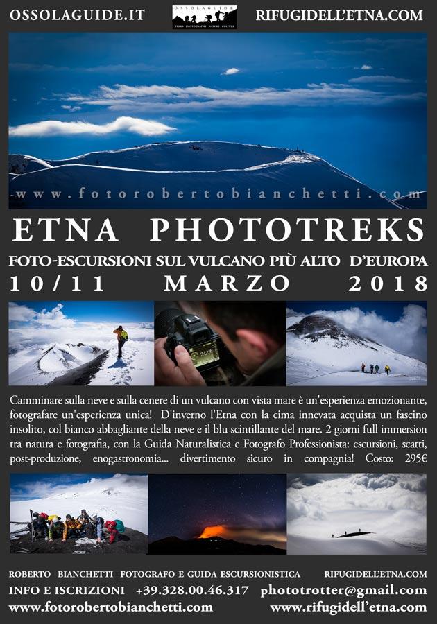 Etna Foto Escursioni 2018