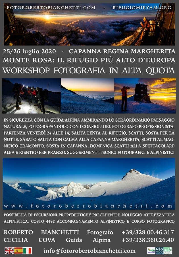 locandina Monte Rosa 2020