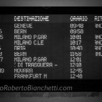 Stazione internazionale di Domodossola, molti treni cancellati