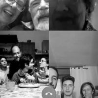 Compleanno in famiglia al tempo del COVID 19